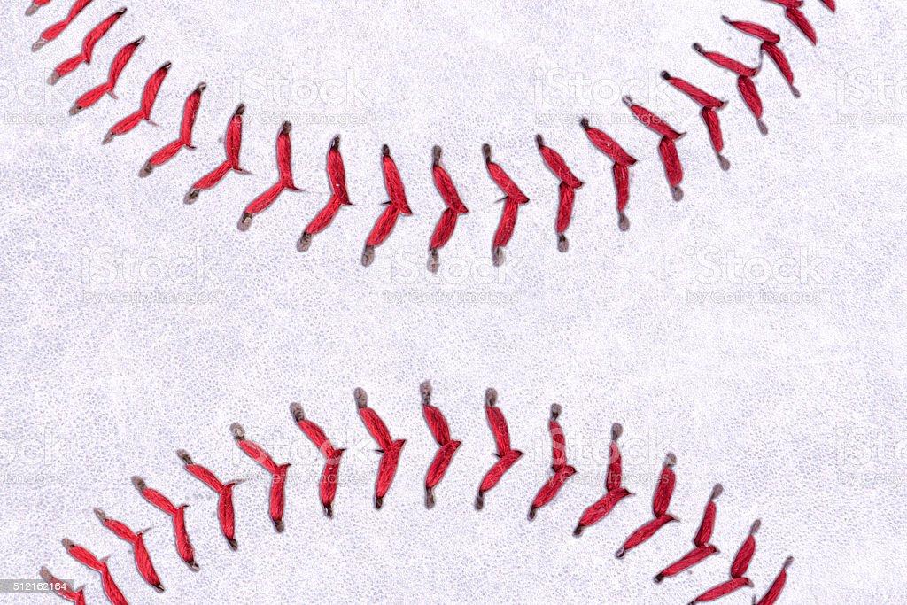 Baseball ball background stock photo