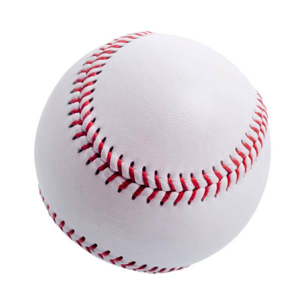 白色背景棒球球。 - baseball 個照片及圖片檔