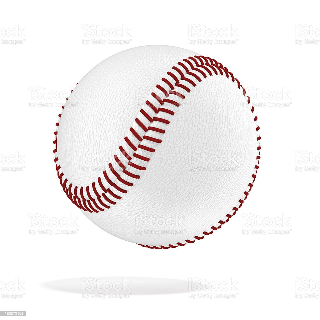 Baseball ball royalty-free stock photo