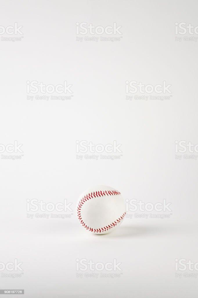 Baseball ball stock photo