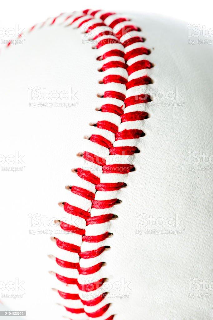 Baseball ball, studio shot stock photo