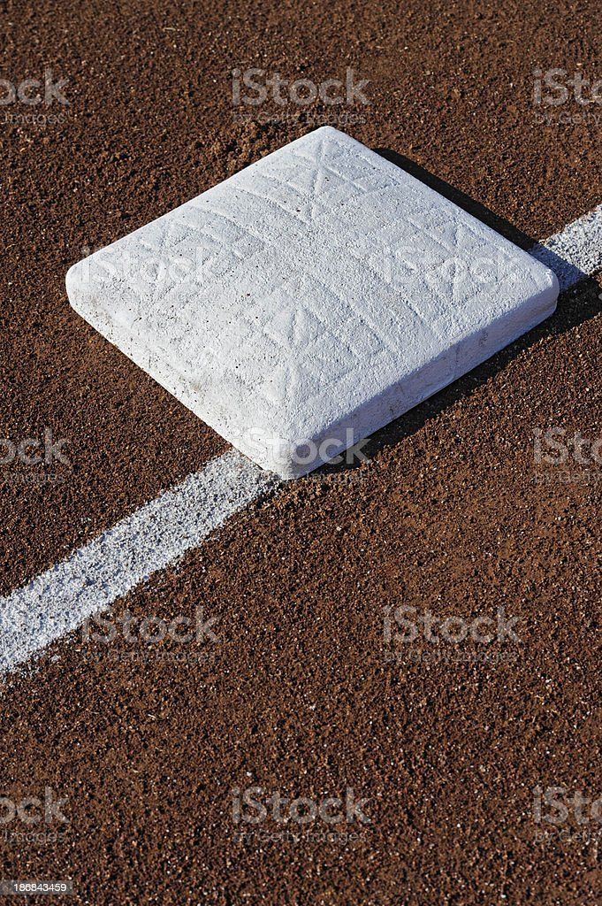 Baseball Base royalty-free stock photo