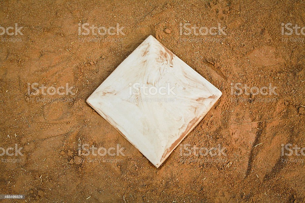 Baseball Base stock photo