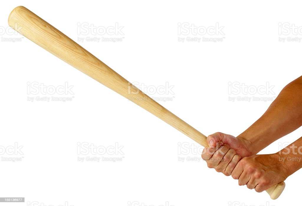 Baseball bat royalty-free stock photo