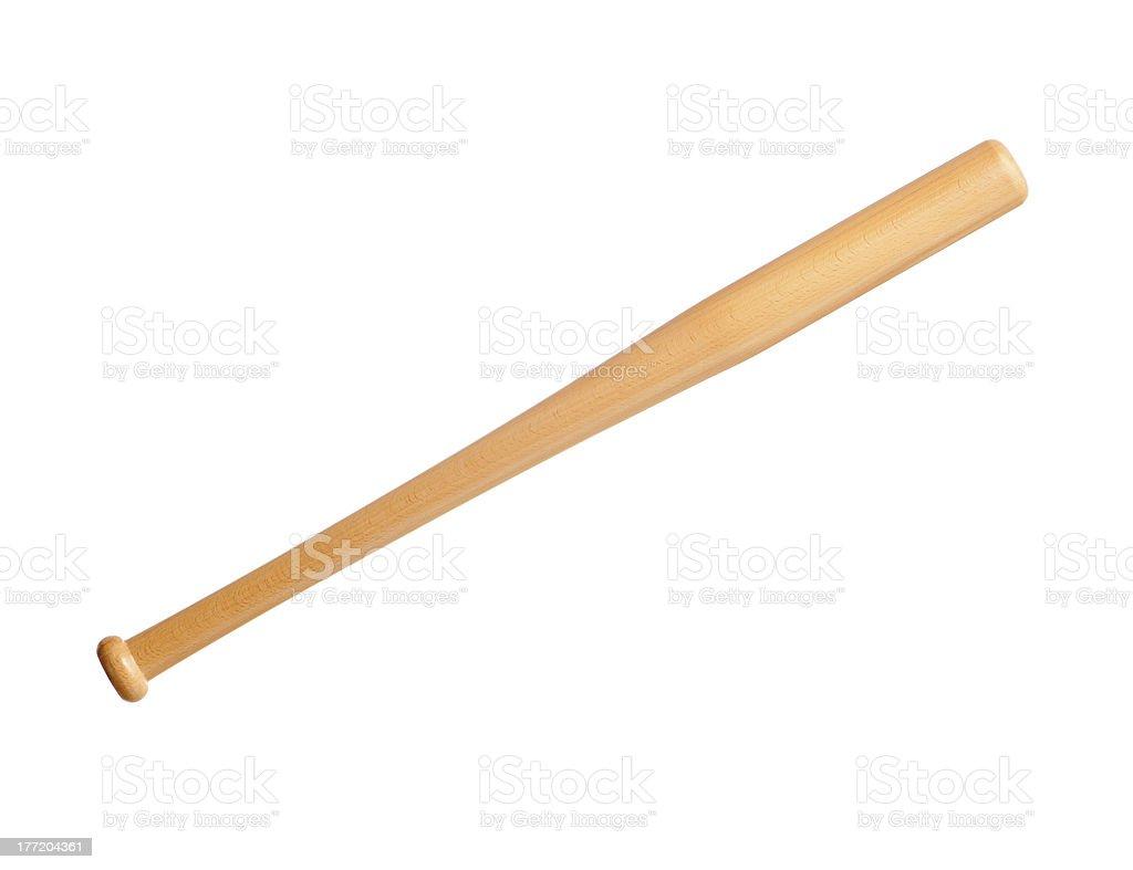Baseball bat stock photo