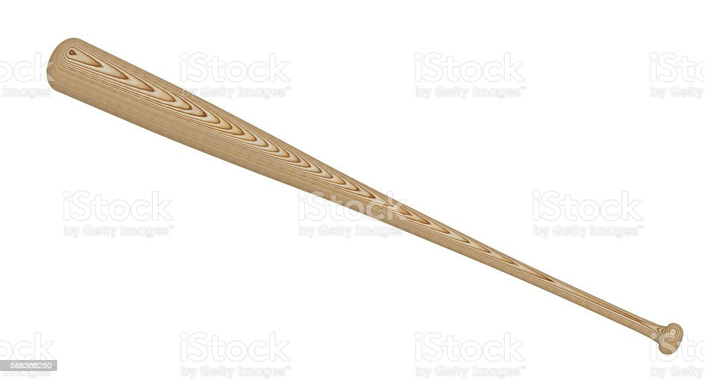 Baseball bat stock photo