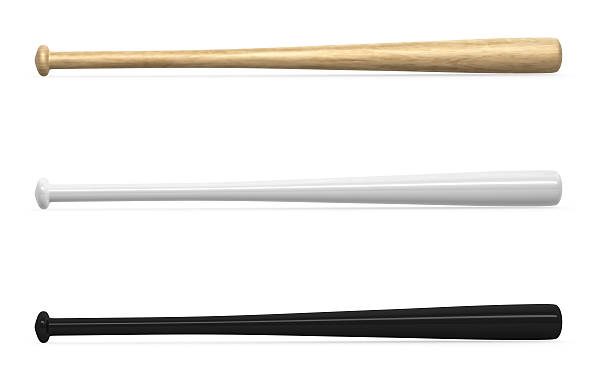 baseball bats - baseball bat stock photos and pictures