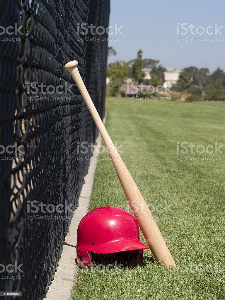 Baseball Batter Gear - Vertical royalty-free stock photo