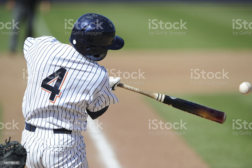 Baseball Batter stock photo