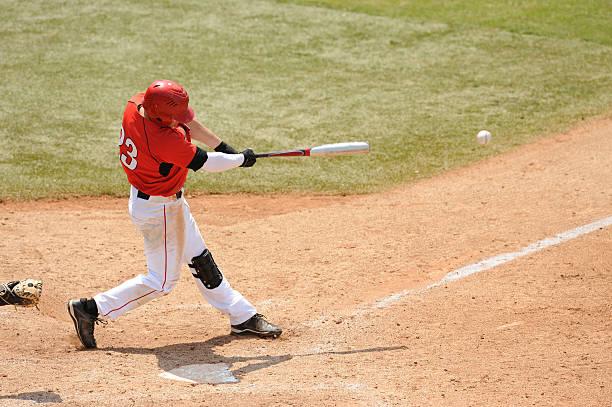 Baseball Batter stock photo