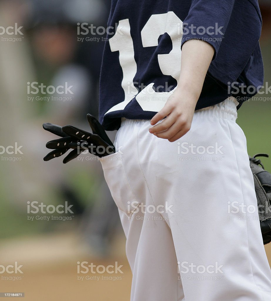 Baseball Batting Gloves royalty-free stock photo