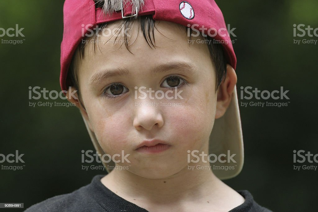 Baseball boy royalty-free stock photo