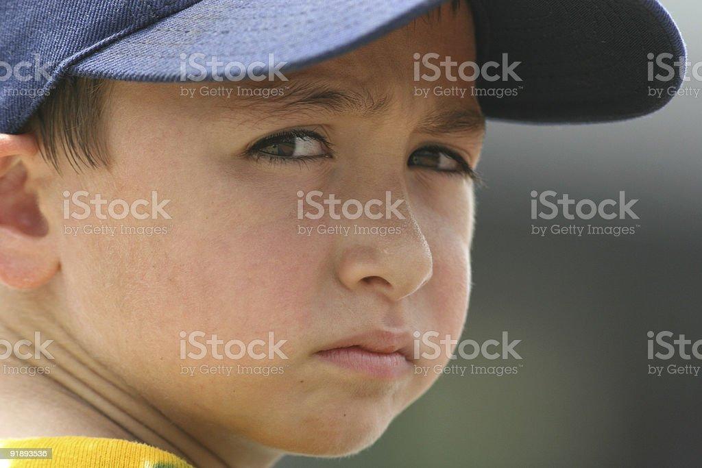 Baseball boy royalty-free stock photo