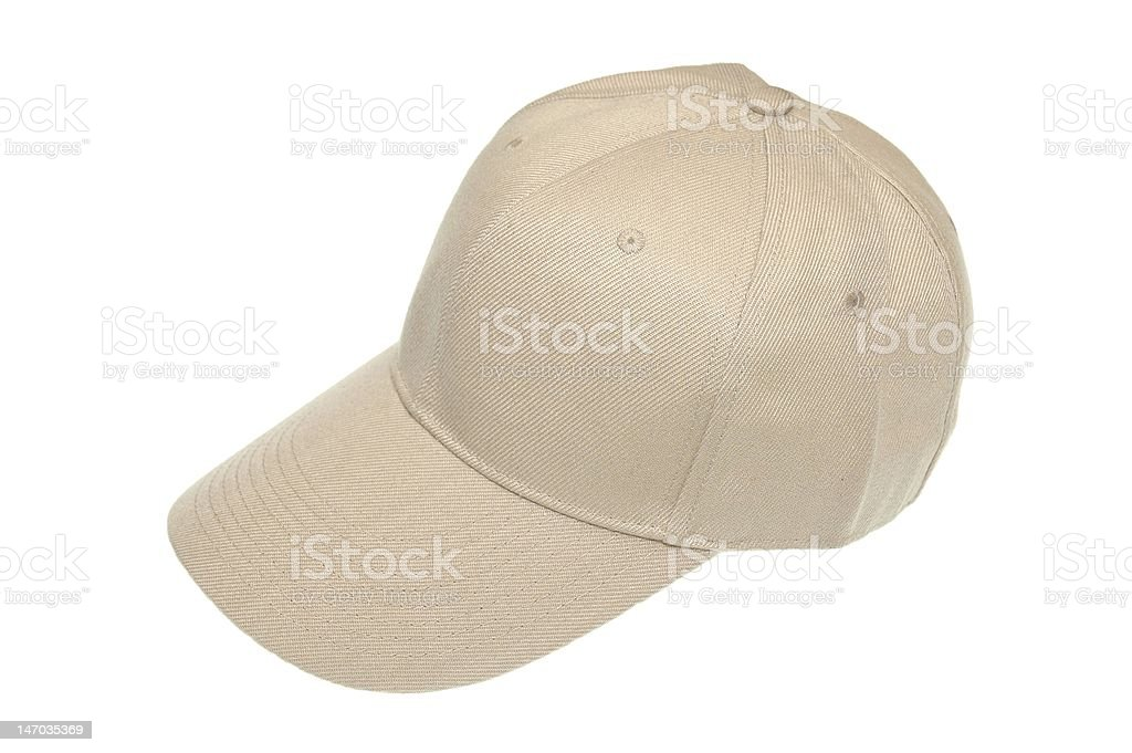 Baseball cap royalty-free stock photo