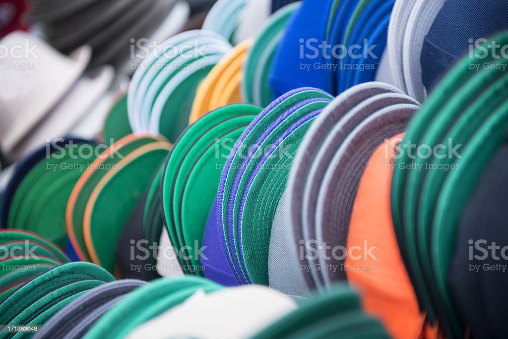 Baseball Caps stock photo