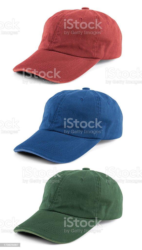 Baseball Caps royalty-free stock photo