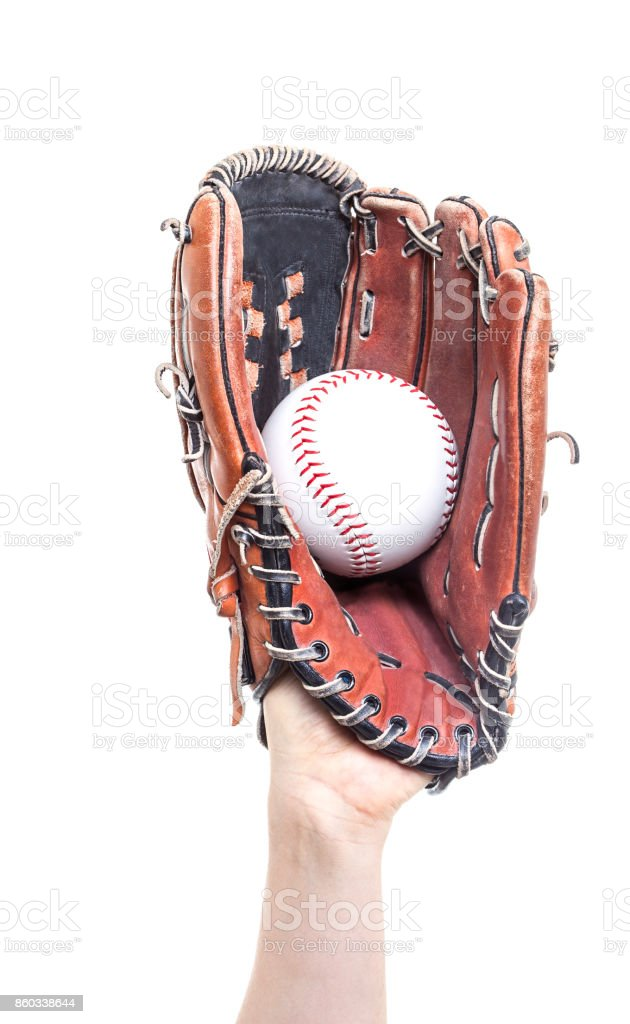 Baseball Catch stock photo