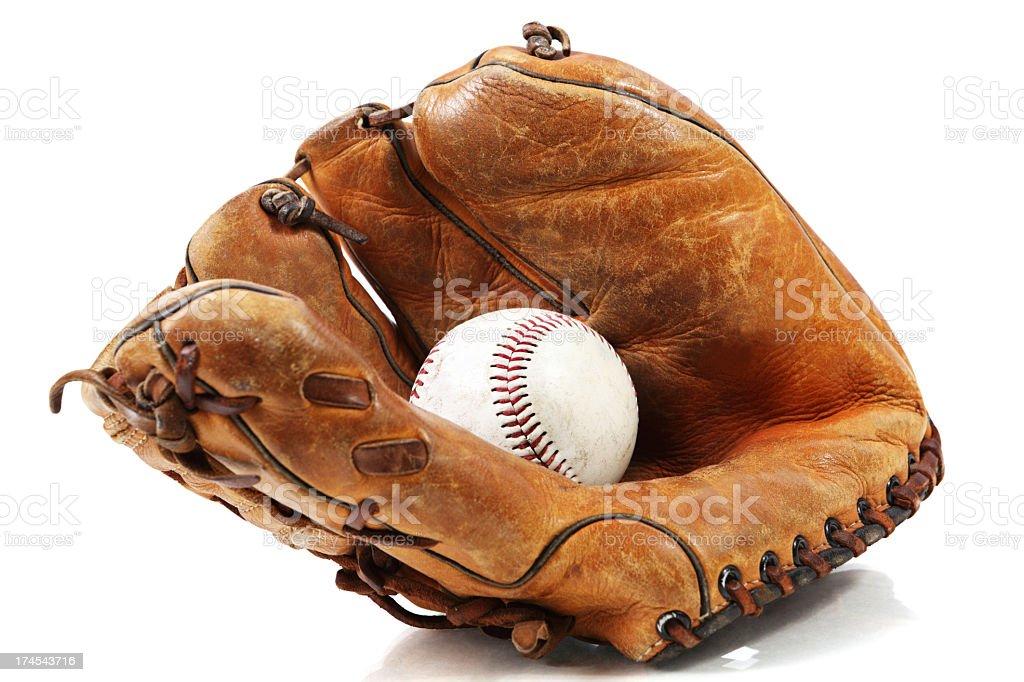 Baseball catcher mitt XXXL royalty-free stock photo