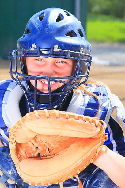 Baseball - Catcher stock photo