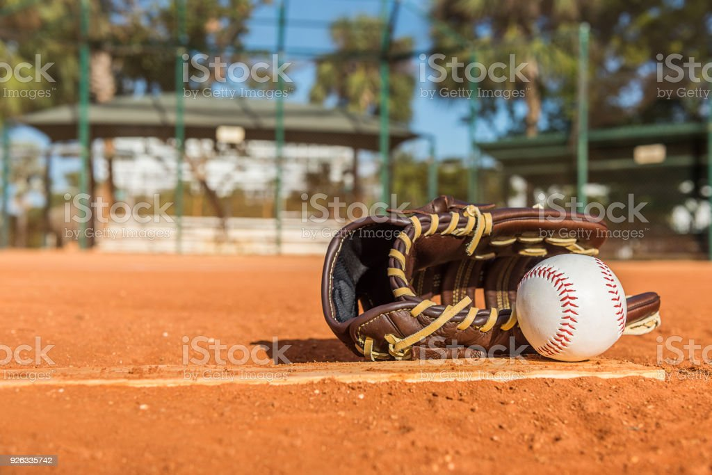 Baseball day stock photo
