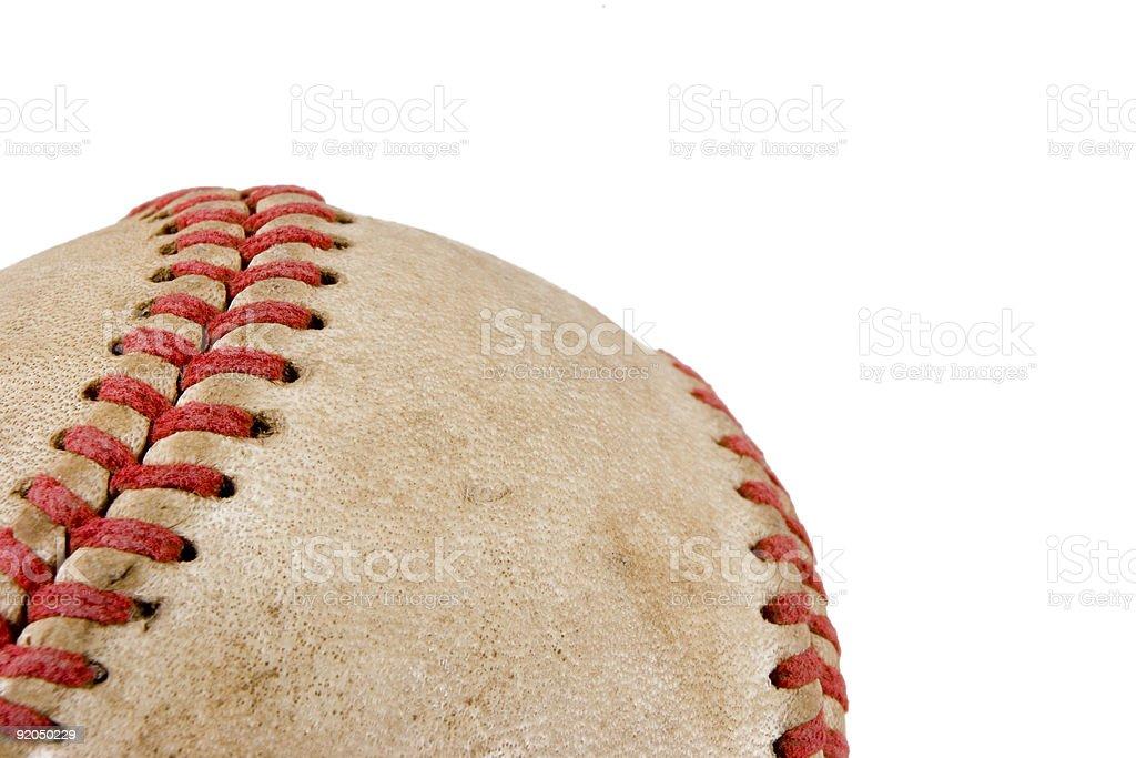 Baseball detail stock photo