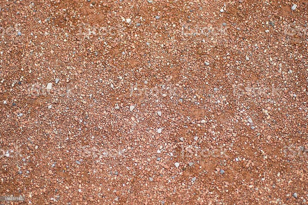 Baseball diamond texture stock photo