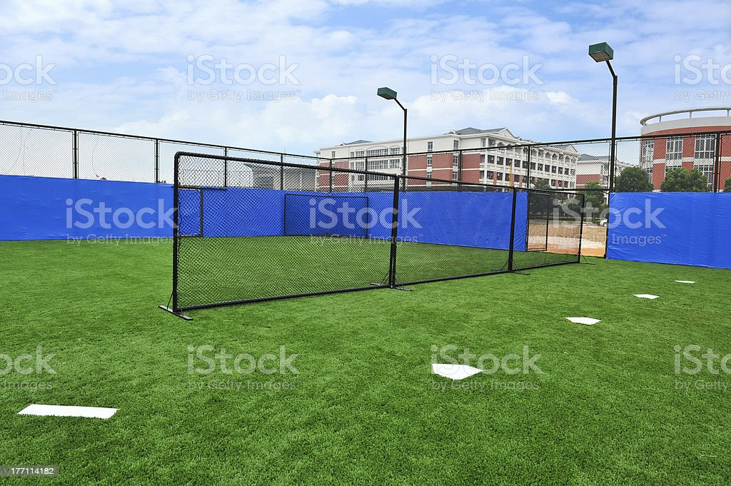 Baseball Driving Range royalty-free stock photo