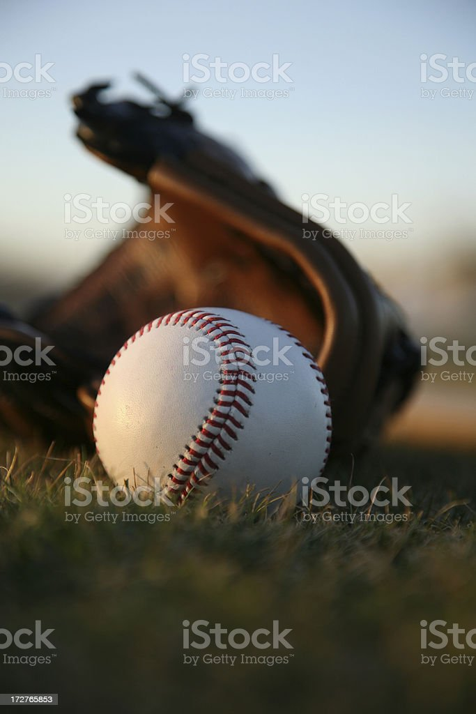Baseball Equipment royalty-free stock photo
