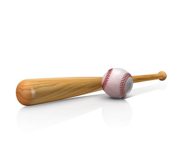 baseball equipment - baseball bat stock photos and pictures