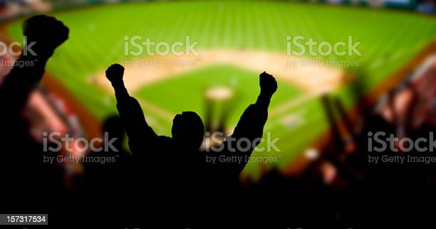 Baseball Excitement Stock Photo - Download Image Now