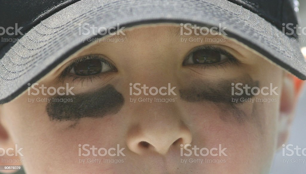 Baseball eyes royalty-free stock photo