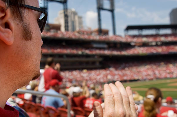 baseball fan - sports event stock photos and pictures