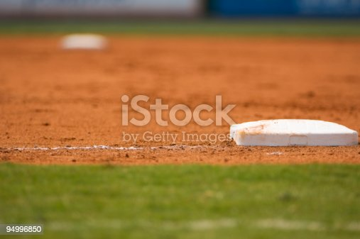 istock Baseball Field at a Major League Baseball Game 94996850
