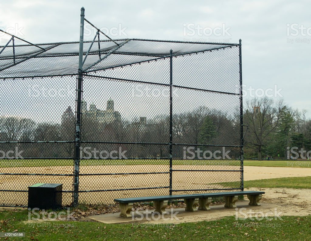 Baseball Field In Central Park Stock Photo & More Pictures of 2015 ...