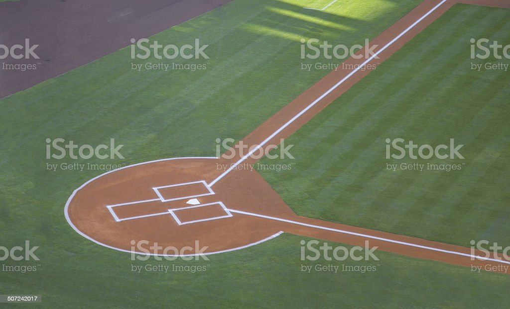 baseball field foto