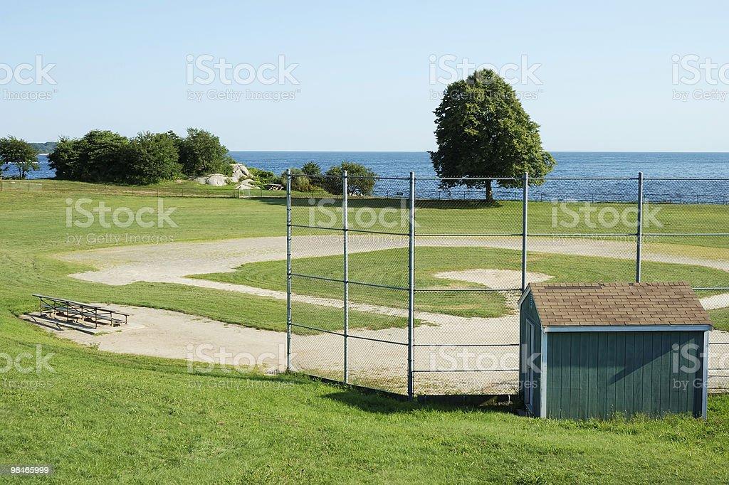 Campo da Baseball foto stock royalty-free