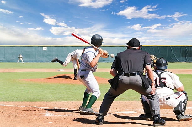 baseball game - spring training stock photos and pictures