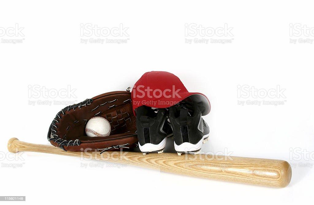 Baseball gear stock photo