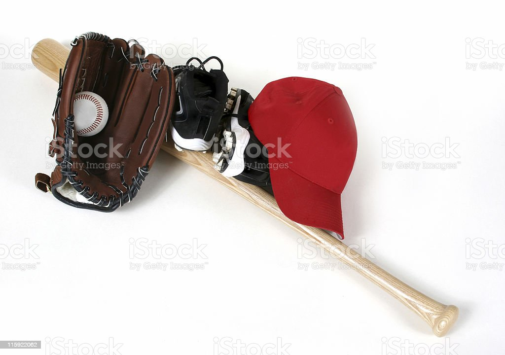 Baseball Gear royalty-free stock photo