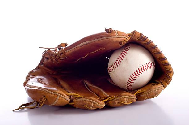 Gant de Baseball et ballon - Photo