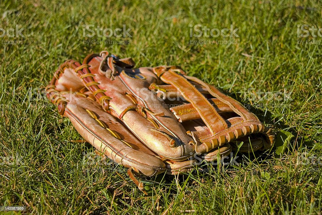 Baseball Glove royalty-free stock photo