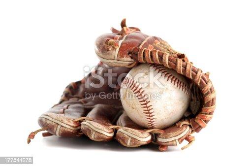 istock Baseball glove 177544278