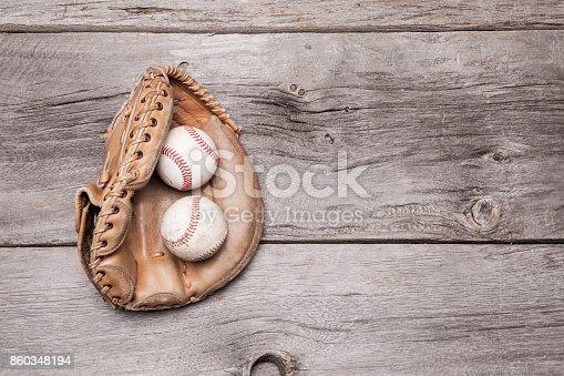 istock Baseball Glove 860348194