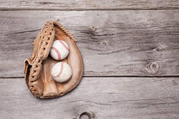 Baseball Glove stock photo