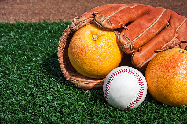 baseball grapefruit league, aka spring training - spring training stock photos and pictures