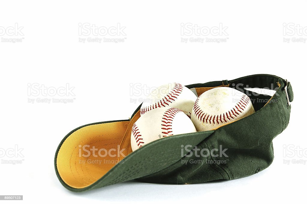 Baseball hat royalty-free stock photo