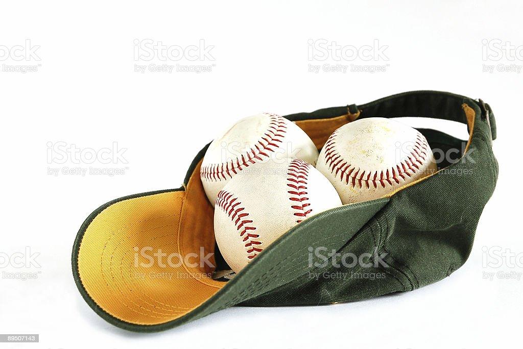 Casquette de Baseball photo libre de droits