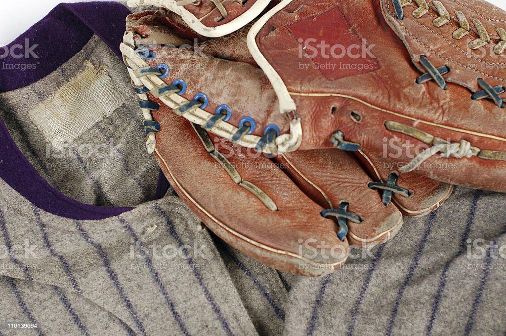 Baseball History stock photo