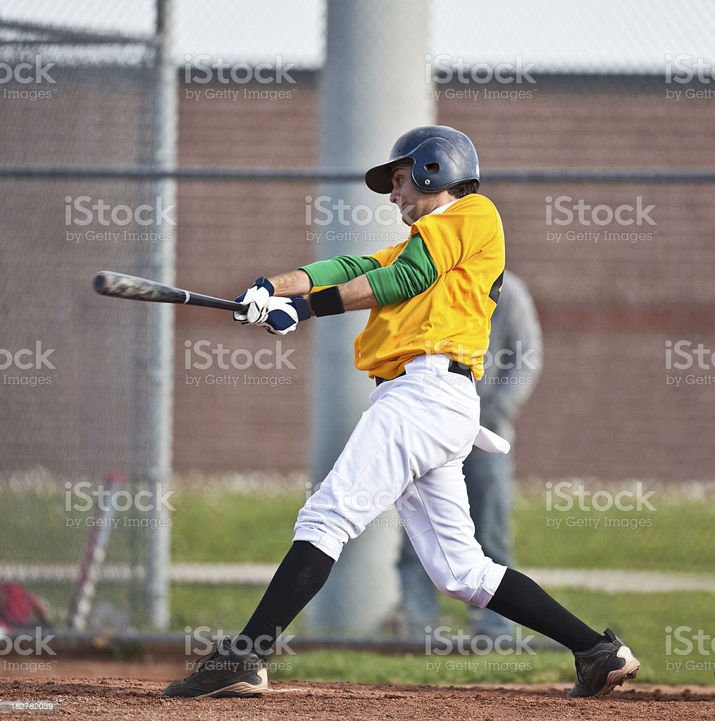 Baseball hitter royalty-free stock photo