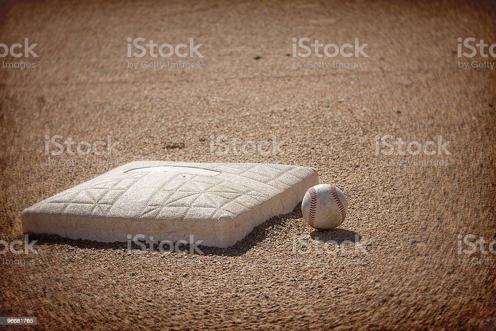 Baseball infield Background royalty-free stock photo